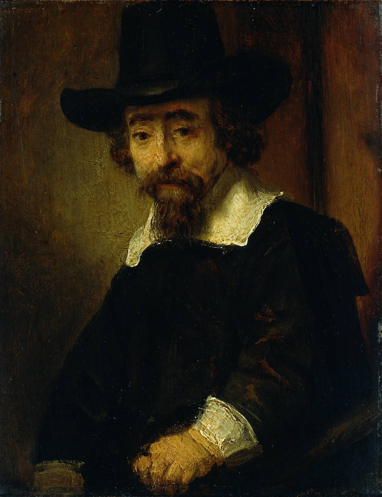 Рембрандт ван Рейн - Д-р Эфраим Буэно, еврейский врач и писатель 1647